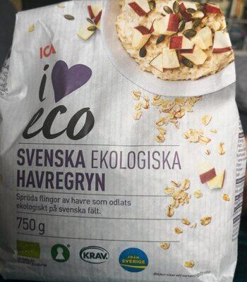 Svenska ekologiska havregryn