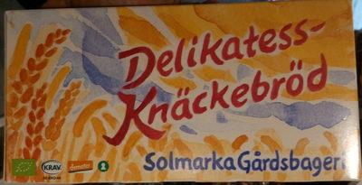 Delikatess-Knäckebröd