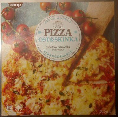 Pizza ost & skinka