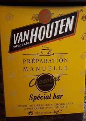 Préparation manuelle CHocolat en poudre Spécial bar