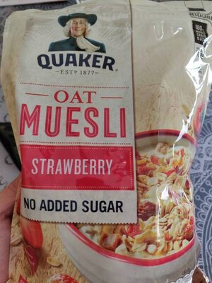 Oat muesli strawberry