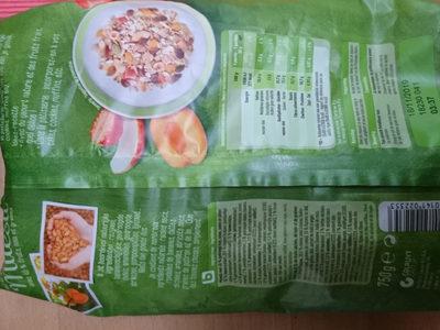 muesli met 45%fruit, noten, zaden en pitten
