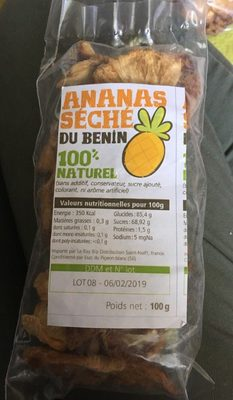 Ananas seché du benin
