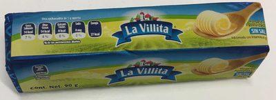 Margarina sin sal La villita
