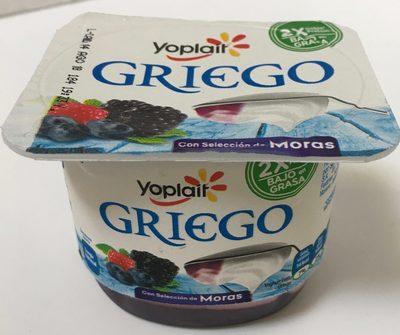 Yoplait Griego sabor Moras