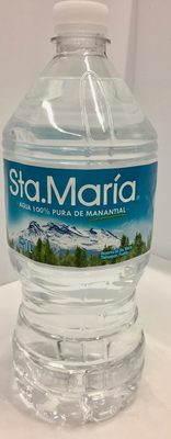 Agua 100% pura de manantial