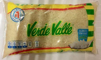 Arroz blanco entero Verde Valle