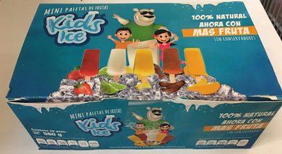 Mini paletas de agua Kids Ice