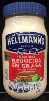 Myonesa reducida en grasa Hellmann's