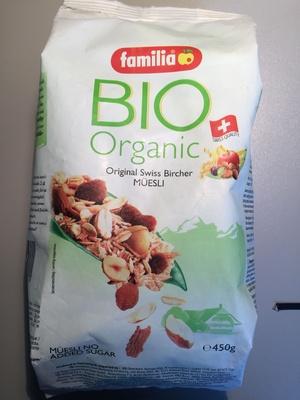 Bio organic Original Bircher Müsli