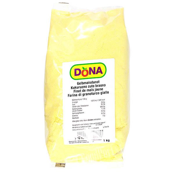 Dona Yellow Maize Steam