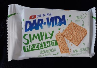 Dar-Vida Simply Hazelnut