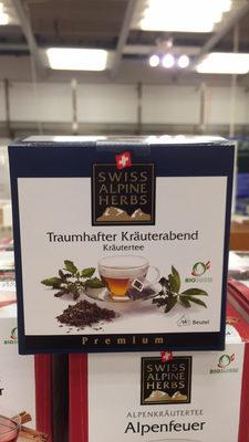 Swiss Alphine Herbs Bio Traumhafter Kräuterabend Kräutertee