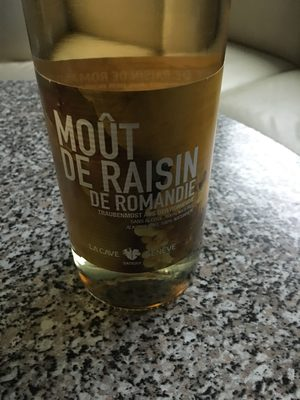 Moût de raisin de Romandie