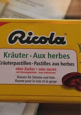 Ricola Kräuterpastillen
