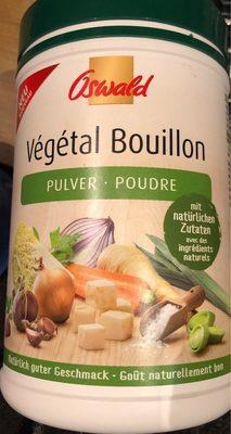 Végétal bouillon poudre