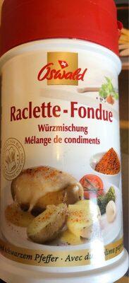 Oswald Raclette Fondue Gewürzmischung