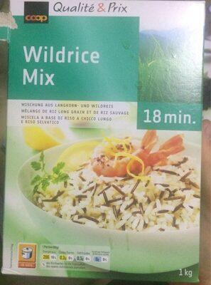 Mélange de riz long grain et de riz sauvage