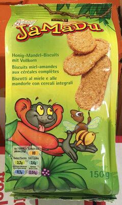 Biscuits miel-amandes aux céréales complètes