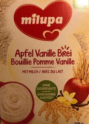 Bouillie pomme vanille