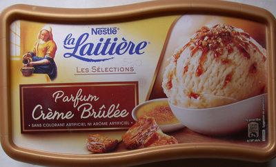 Crème glacée Parfum Crème Brûlée