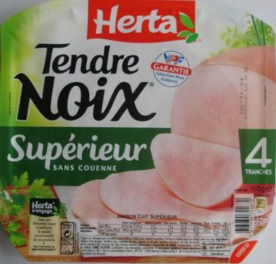 Tendre Noix, Supérieur Sans Couenne (4 Tranches)