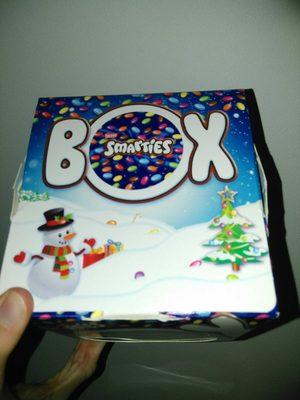 Smarties box
