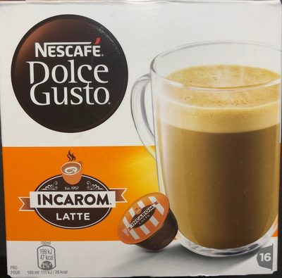 Dolce Gusto Incarom Latte