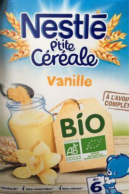 P'tite Céréale Bio Vanille