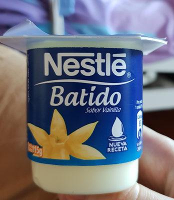 batido sabor vanilla