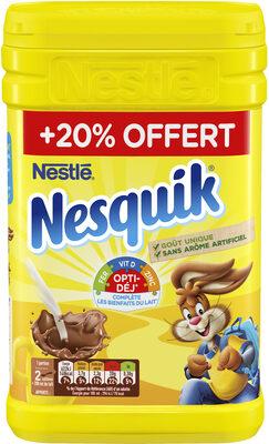 NESQUIK Poudre Cacaotée Boite 6 x (1kg+20% OFFERT)