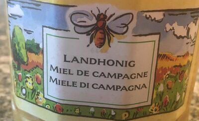 Miel de campagne