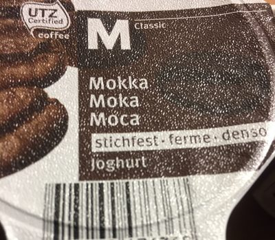 Yaourt Moka ferme