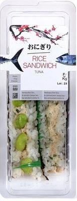 Rice Sandwich Tuna
