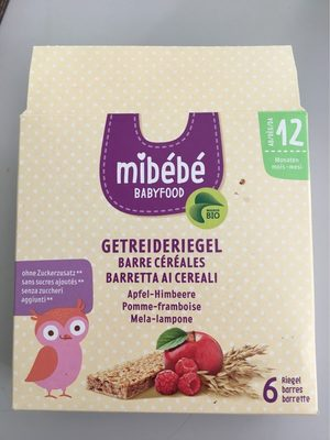 Getreideriegel minibébé barre cereales