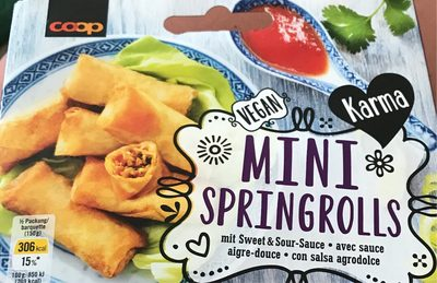 Mini springrolls