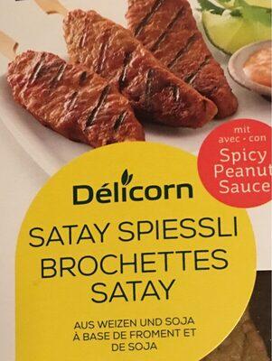 Brochettes satay