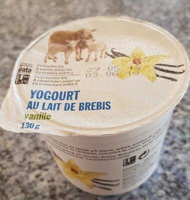 Yoghourt au lait de brebis
