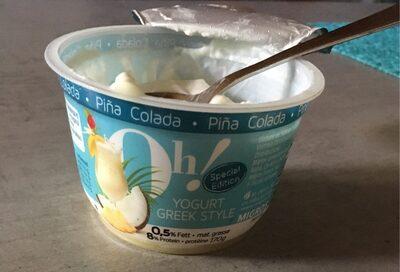 Oh! greek style Pina Colada