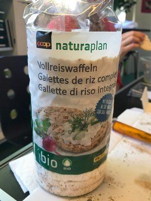 Galette de riz complet