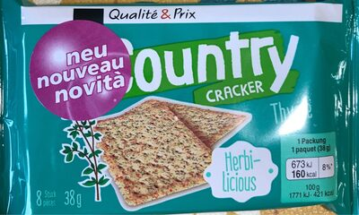 Country cracker thym