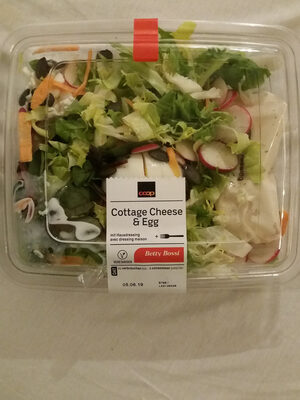 salade cottage cheese & egg