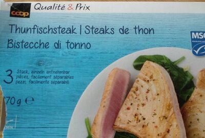 Steaks de thon