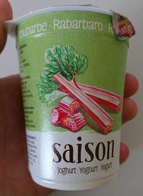 Saison Yogourt - Rhubarbe