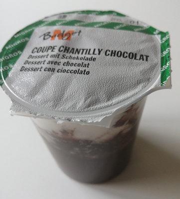Coupe chantilly chocolat