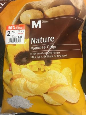 Pommes Chips Nature