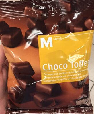 Choco Toffee Caramel enrobé de chocolat noir