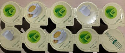 Crème à café Bio