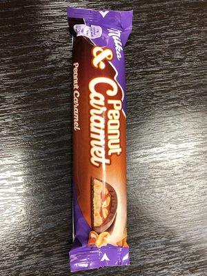 Milka peanut et caramel