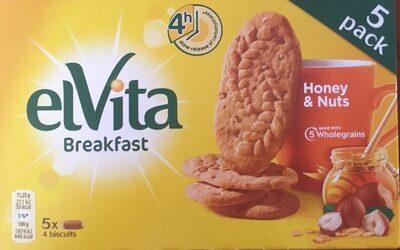 Breakfast Honey & Nuts